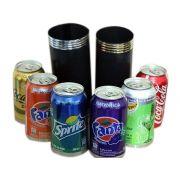 Produção das latas R+