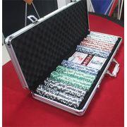 Set de Poker  -  Maleta de Poker  500 Fichas 11,5 Gramas com 2 Baralhos Bee