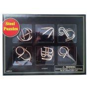 Steel puzzles - Quebra cabeça x 6 pecas