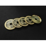 set de moedas chinesas com casquilha - Super Chinese Coin Set B+