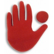 The Big Red Hand Goshman - Mão Jumbo B+
