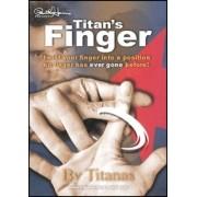 Titans finger gimmick & dvd J+