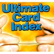 ULTIMATE CARD INDEX (THE THINNEST IN THE WORD