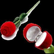 Rose que se transforma em porte aliance - Wedding  magic - Rose to ring box B+