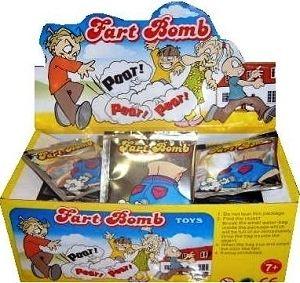 1 caixa com 72  Bombas de Peido Fart Bomb B+
