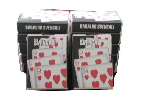 Caixa Com 12 Baralhos Svengali - atacado J+