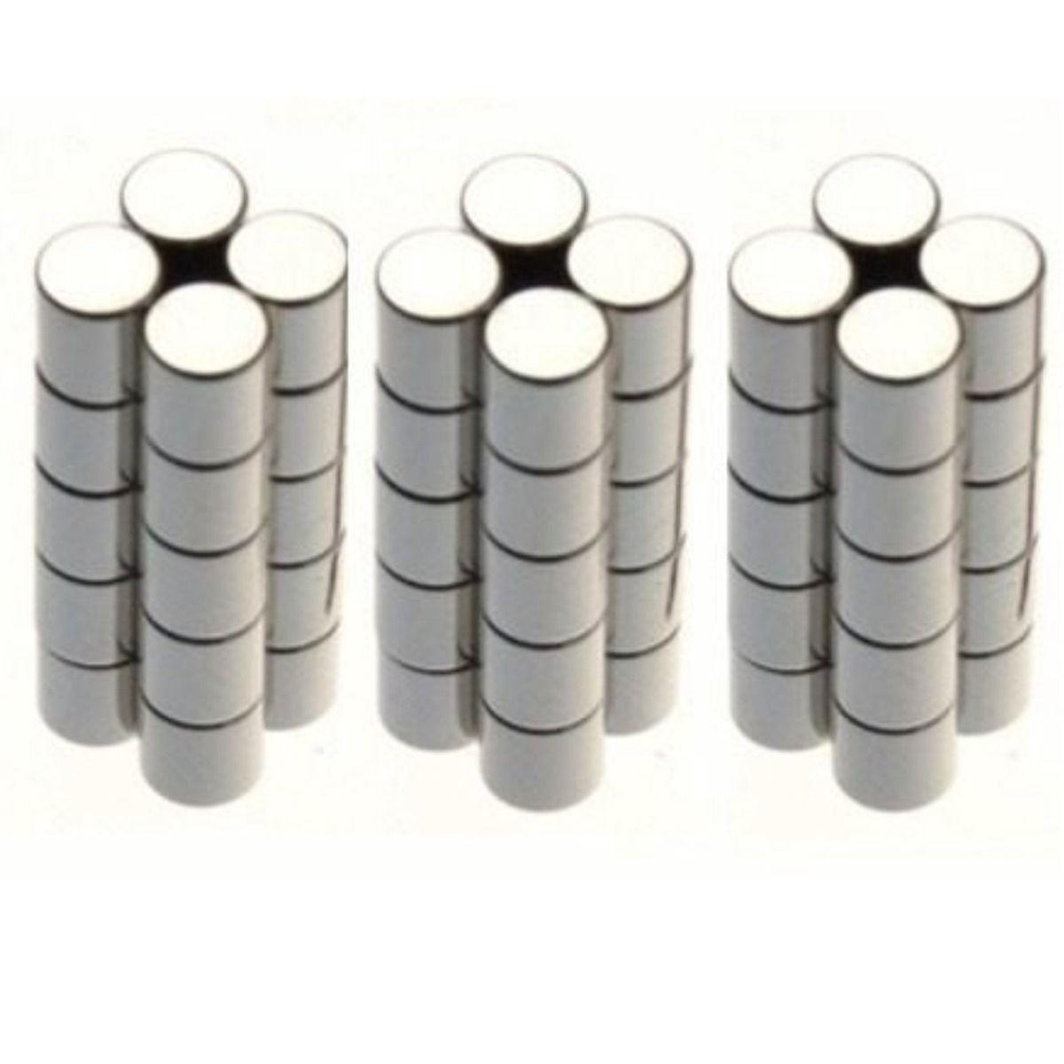 10 Imãs Neodímio  3X4mm R+