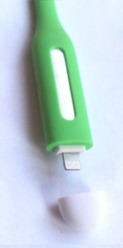 Luminária Verde Led Usb Para Notebook, Pc, Mac Iphone 5 5s