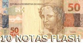 40 Notas Flash (10,20,50,100)  B+