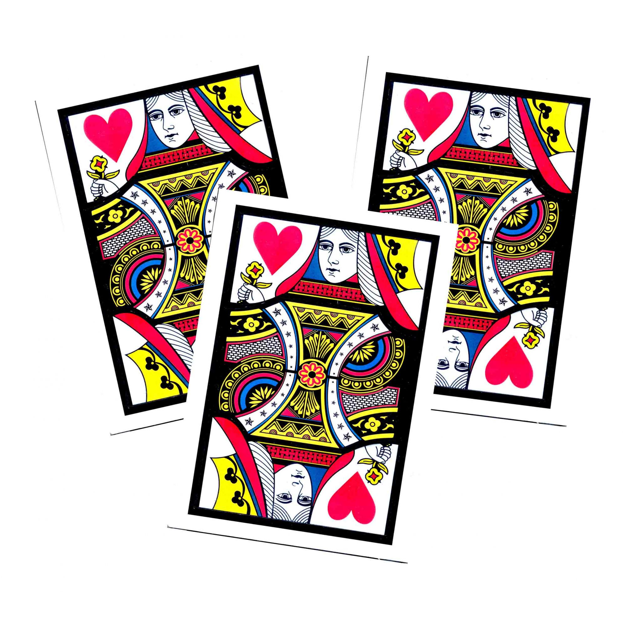 Automatic 3 Cards Monte Jumbo R+