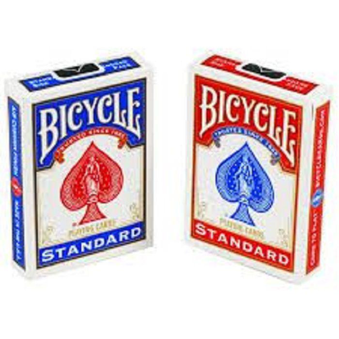 4 Baralhos Bicycle Standard azul e vermelho R+