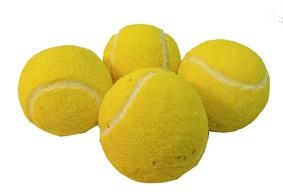 4 Bolas de tenis de espuma - Sponge Tennis R+