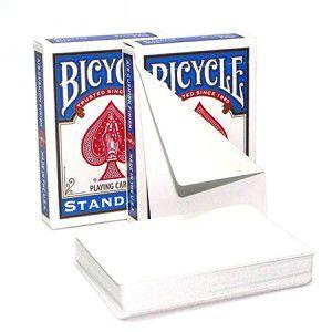 5 Cartas Dupla Face  Bicycle Branco R+