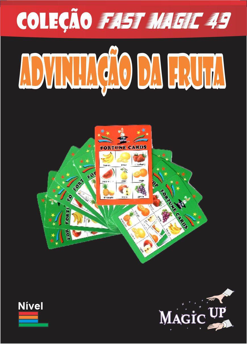 Adivinhação da Fruta - Fortune Card - Coleção Fast Magic N 49 R+