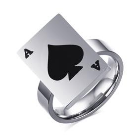 Anel Espadas 3 ( Spade )  - Tamanho americano 6,7,8,9 B+