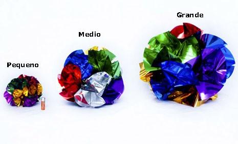 Aparição Bouquet de Flores Mecânicas 30cm – Médio