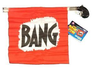 Pistola bang gun para palhaco B+