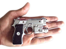Pegadinha pistola  Do Choque - replica miniature