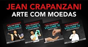 ARTE COM MOEDAS VOL 1,2,3,4 com JEAN CRAPANZANI
