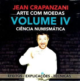 ARTE COM MOEDAS VOL 4  Ciência numismática -jean CRAPANZANI