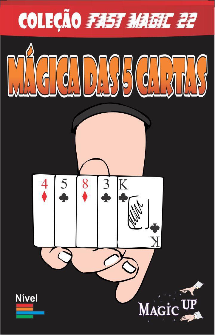 As 5 Cartas - Coleção Fast Magic N 22 B+