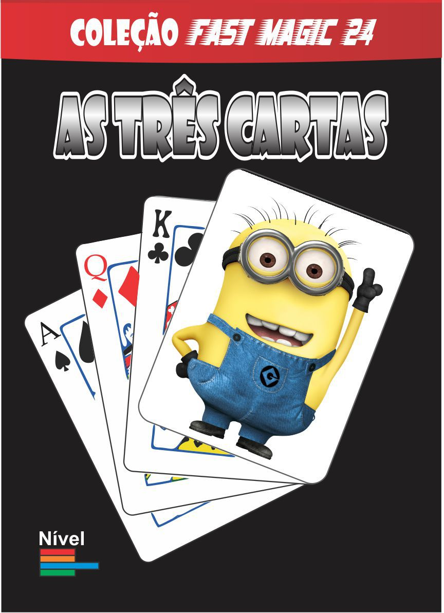 As 3 Cartas Minions - Coleção Fast Magic N 24  R+