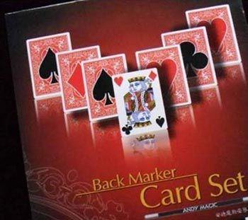 Back Marker Card Set