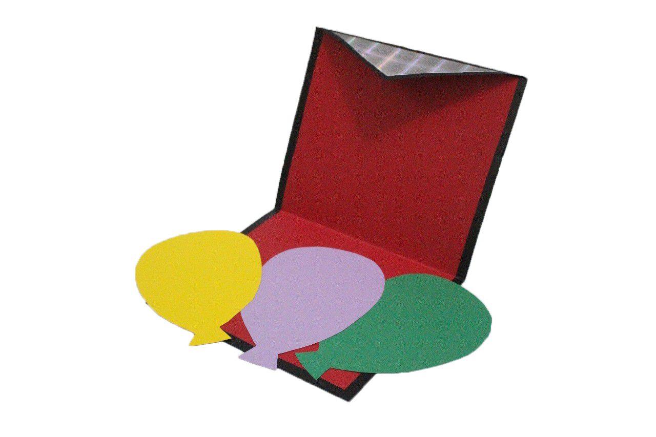 Balão no Envelope R+
