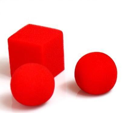 Ball to square - Magica com bola de espuma - Coleção Classic N 11