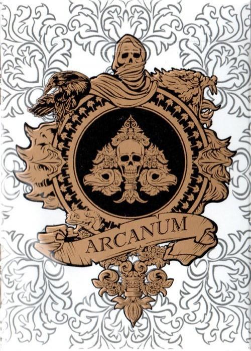 Baralho Arcanum branco