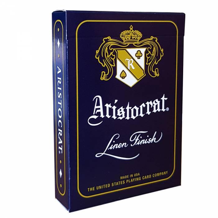 Baralho Aristocrat Azul - Linen Finish b+