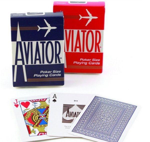 Baralho Aviator - Azul ou Vermelho b+