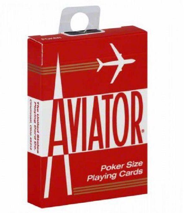 Baralho Aviator - Azul ou Vermelho
