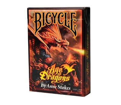 Baralho Bicycle Age Of Dragons by Anne Stokes