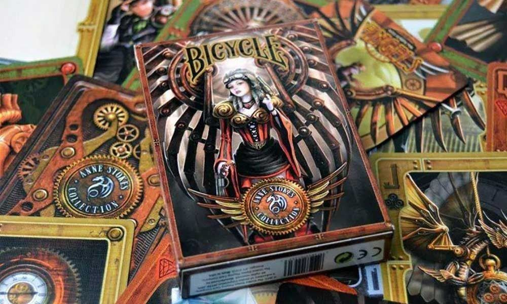 BARALHO BICYCLE ANNE STROKES STEAMPUNK