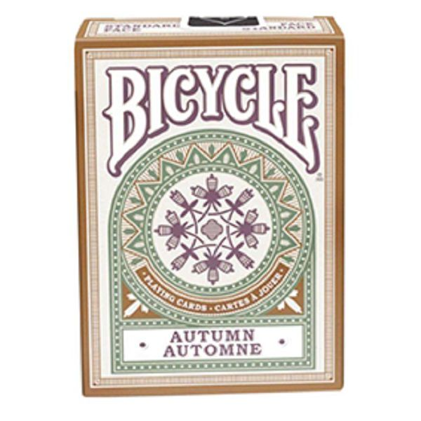 Baralho Bicycle Autumn Automne R+
