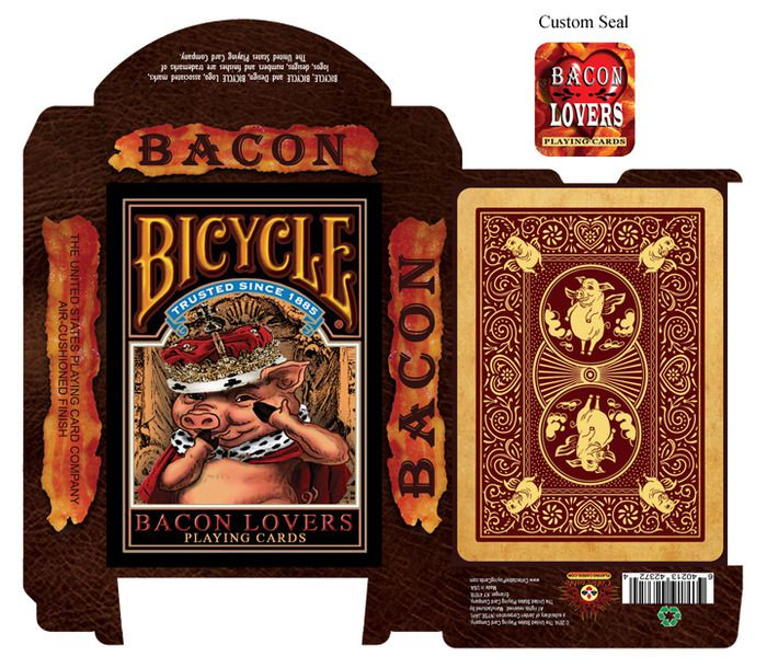 Baralho Bicycle Bacon Lovers R+