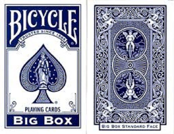 Baralho Bicycle Big Box Azul R+