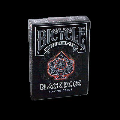 Baralho Bicycle Black Rose