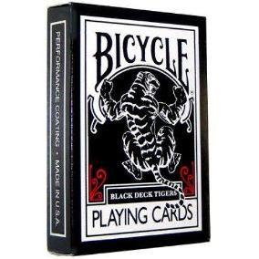 Baralho Bicycle - Black tiger deck B+