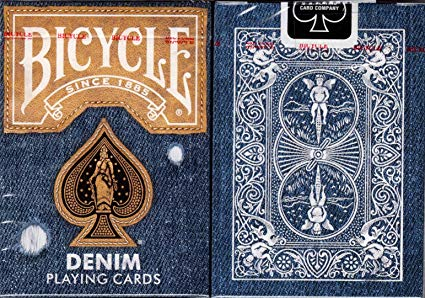 Baralho Bicycle Denim B+