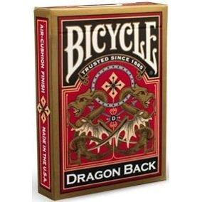 Baralho Bicycle Gold Dragon Back R+ d