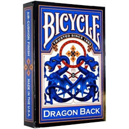 Baralho Bicycle  Dragon Back Blue R+