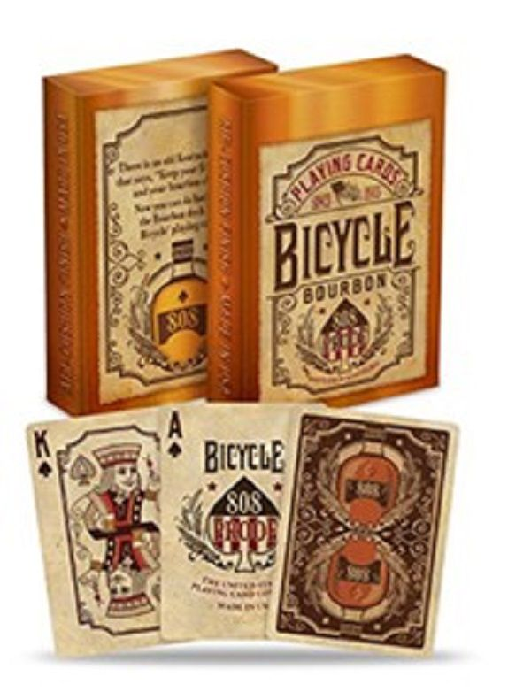 Baralho Bicycle - Ed. Especial Bourbon R+