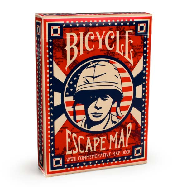Baralho Bicycle - Escape Map