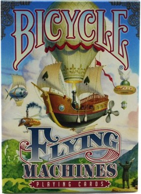 Baralho Bicycle Flying Machine B+