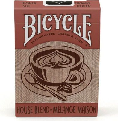 Baralho  Bicycle - House Blend R+