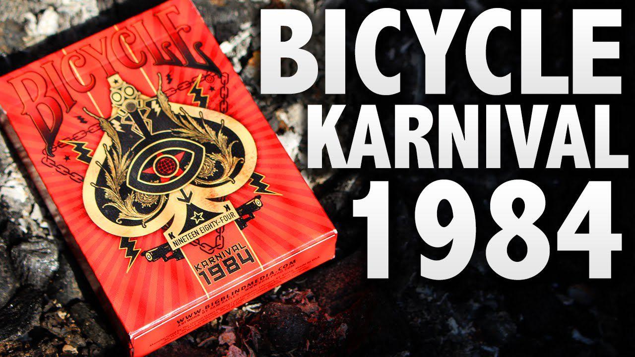 Baralho Bicycle Karnival 1984
