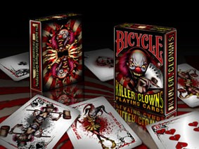BARALHO BICYCLE KILLER CLOWNS