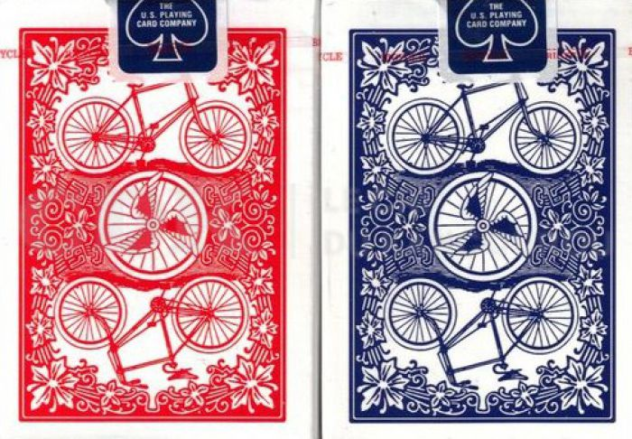 Baralho Bicycle - League Back Azul ou Vermelho B+